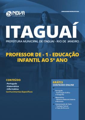Apostila Concurso Prefeitura de Itaguaí 2020 Professor Grátis Cursos Online