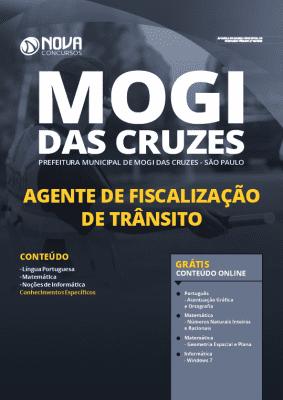 Apostila Concurso Prefeitura de Mogi das Cruzes 2020 Agente de Fiscalização de Trânsito Grátis Cursos Online