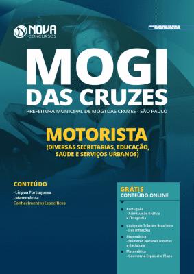 Apostila Concurso Prefeitura de Mogi das Cruzes 2020 Motorista Grátis Cursos Online