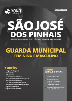 Apostila Concurso Prefeitura de São José dos Pinhais 2020 Guarda Municipal Grátis Cursos Online