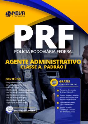 Apostila Concurso PRF 2020 Agente Administrativo Grátis Cursos Online