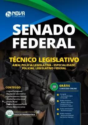 Apostila Concurso Senado Federal 2020 Grátis Cursos Online Técnico Legislativo Área Polícia Legislativa