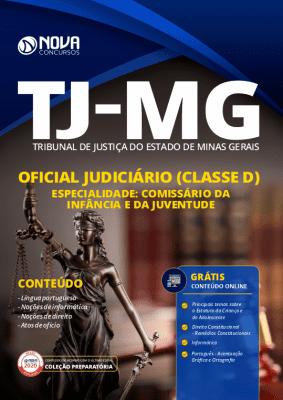 Apostila Concurso TJ MG 2020 Oficial Judiciário Grátis Cursos Online