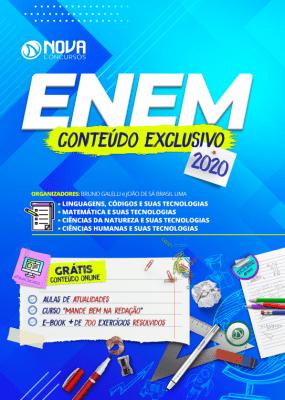 Apostila ENEM Impressa e PDF 2020 Grátis Curso Online