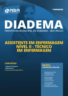 Apostila Prefeitura de Diadema 2020 Técnico em Enfermagem Grátis Cursos Online