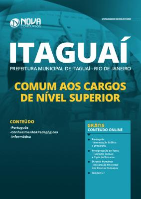 Apostila Prefeitura de Itaguaí 2020 Nível Superior Grátis Cursos Online