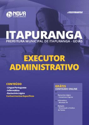 Apostila Prefeitura de Itapuranga GO 2020 Executor Administrativo Grátis Cursos Online