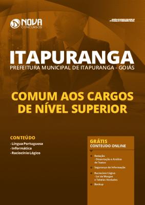 Apostila Prefeitura de Itapuranga GO 2020 Nível Superior Grátis Cursos Online