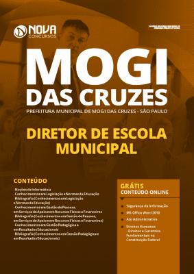 Apostila Prefeitura de Mogi das Cruzes 2020 Diretor Grátis Cursos Online