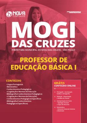 Apostila Prefeitura de Mogi das Cruzes 2020 Professor Grátis Cursos Online
