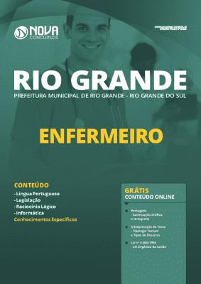 Apostila Prefeitura de Rio Grande 2020 Enfermeiro Grátis Cursos Online