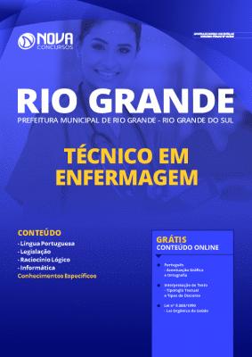 Apostila Prefeitura de Rio Grande 2020 Técnico em Enfermagem Grátis Cursos Online