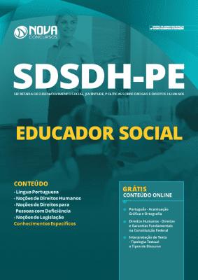 Apostila Prefeitura do Recife 2020 Educador Social Grátis Cursos Online