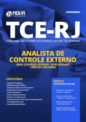 Apostila TCE RJ 2020 Analista em Ciências Contábeis Grátis Cursos Online