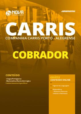 Apostila Concurso CARRIS 2020 Cobrador Grátis Cursos Online
