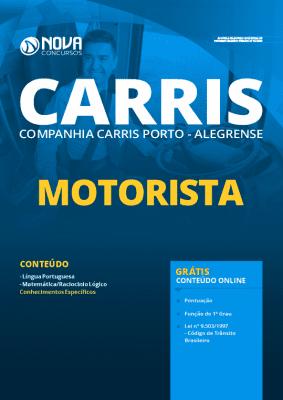 Apostila Concurso CARRIS 2020 Motorista Grátis Cursos Online