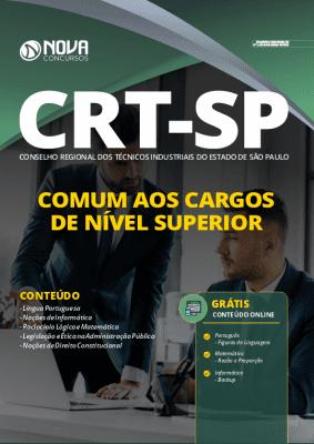 Apostila Concurso CRT SP 2020 Nível Superior Grátis Cursos Online