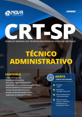 Apostila Concurso CRT SP 2020 Técnico Administrativo Grátis Cursos Online