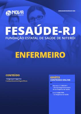 Apostila Concurso FeSaúde 2020 Enfermeiro Grátis Cursos Online