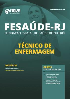 Apostila Concurso FeSaúde 2020 Técnico de Enfermagem Grátis Cursos Online