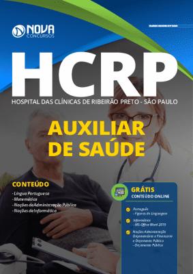 Apostila Concurso HCRP SP 2020 Auxiliar de Saúde Grátis Cursos Online