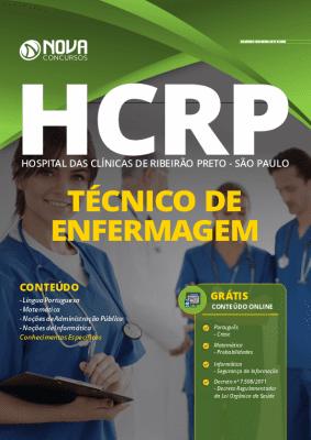 Apostila Concurso HCRP SP 2020 Técnico de Enfermagem Grátis Cursos Online