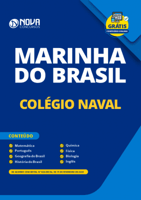 Apostila Concurso Marinha do Brasil 2020 Colégio Naval Grátis Cursos Online