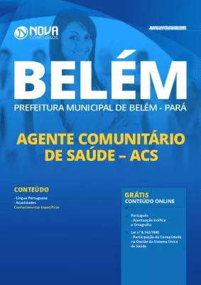 Apostila Concurso Prefeitura de Belém 2020 Agente Comunitário de Saúde Grátis Cursos Online