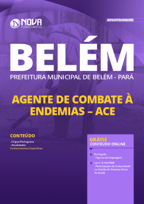 Apostila Concurso Prefeitura de Belém 2020 Agente de Combate às Endemias Grátis Cursos Online