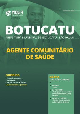 Apostila Concurso Prefeitura de Botucatu 2020 Agente Comunitário de Saúde Grátis Cursos Online