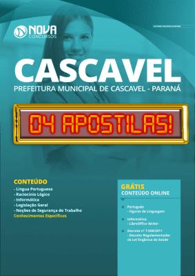 Apostila Concurso Prefeitura de Cascavel 2020 Grátis Cursos Online