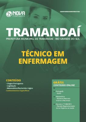 Apostila Prefeitura de Tramandaí RS 2020 PDF e Impressa Técnico em Enfermagem Grátis Cursos Online