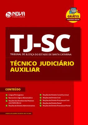 Apostila Concurso TJ SC 2020 Técnico Judiciário Grátis Cursos Online