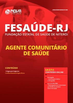 Apostila FeSaúde 2020 Agente Comunitário de Saúde Grátis Cursos Online