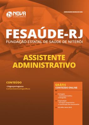 Apostila FeSaúde 2020 Assistente Administrativo Grátis Cursos Online