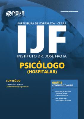 Apostila Prefeitura de Fortaleza 2020 Psicólogo Grátis Cursos Online