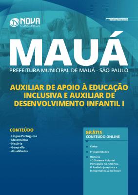 Apostila Prefeitura de Mauá SP 2020 Auxiliar Grátis Cursos Online