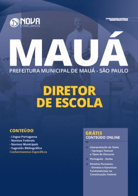 Apostila Prefeitura de Mauá SP 2020 Diretor de Escola Grátis Cursos Online