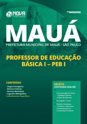 Apostila Prefeitura de Mauá SP 2020 Professor Grátis Cursos Online