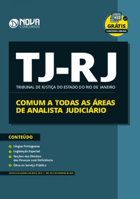 Apostila TJ RJ 2020 Áreas de Analista Judiciário Grátis Cursos Online