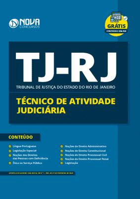 Apostila TJ RJ 2020 Técnico Judiciário Grátis Cursos Online