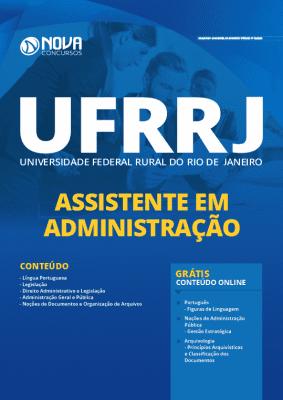 Apostila UFRRJ 2020 Assistente em Administração Grátis Cursos Online