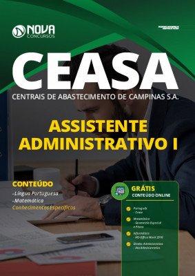 Apostila Concurso Ceasa Campinas 2020 Assistente Administrativo I Grátis Cursos Online