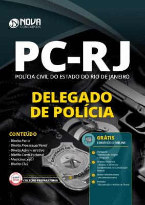 Apostila Concurso PC RJ 2020 Delegado de Polícia Grátis Cursos Online