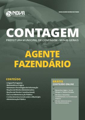 Apostila Concurso Prefeitura de Contagem MG 2020 Agente Fazendário Grátis Cursos Online