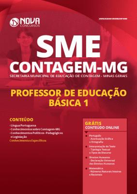 Apostila Concurso SME Contagem MG 2020 Professor Grátis Cursos Online