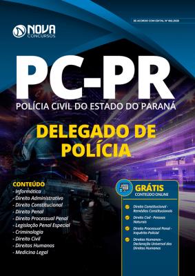 Apostila Polícia Civil PR 2020 PDF Delegado Grátis Cursos Online