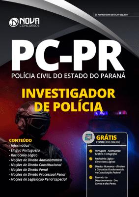 Apostila Concurso Polícia Civil PR 2020 PDF Investigador de Polícia Grátis Cursos Online