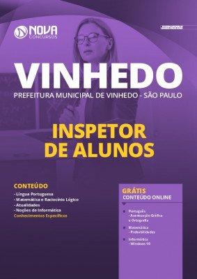 Apostila Prefeitura de Vinhedo 2020 Inspetor de Alunos Grátis Cursos Online