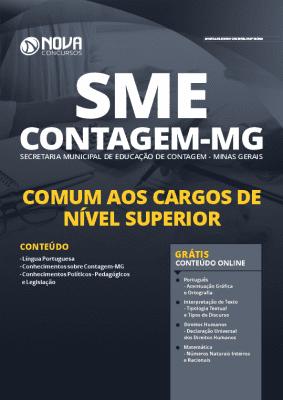 Apostila SME Contagem MG 2020 Nível Superior Grátis Cursos Online